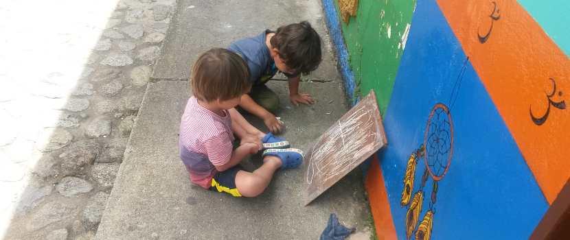jugar y compartir