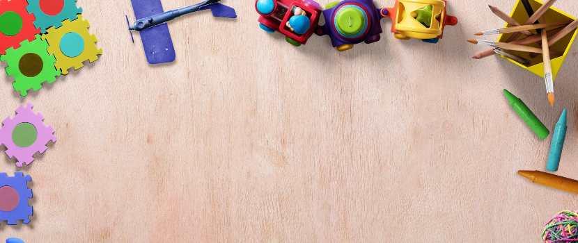 marco de juguetes