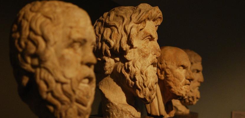 bustos de filósofos