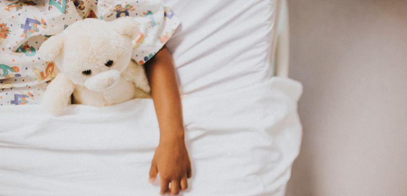 niña hospitalizada