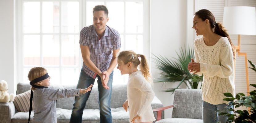 actividades recreativas en familia